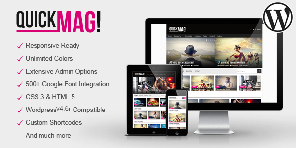 QuikMag – Simple WordPress Magazine Theme