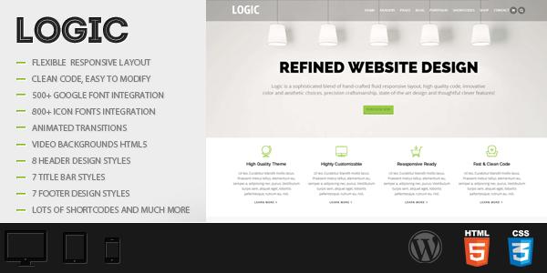 Logic – Multipurpose WordPress Theme