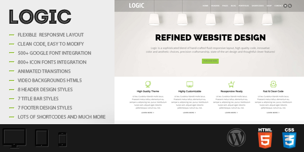 Logic – Multipurpose WordPress Theme